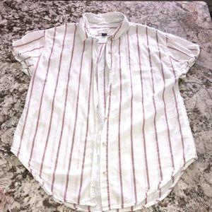 Universal Thread Short Sleeve Button Shirt Size M